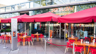 Exterior view of YO! Sushi at the Southbank Centre